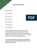 Exercicios de Porcentagem.doc