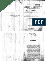 L'Art de La Savate & de La Canne Par Un Élève de Michel Pisseux
