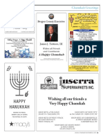 Jewish Standard Chanukah Greetings 2017