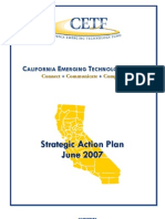 California Emerging Technology Fund Strategic Action Plan June 2007