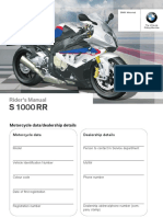 2013 s1000rr Riders Manual 3rd Edition