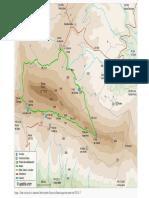 Mapa Sierra Bernia