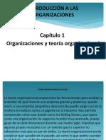 Capítulo 1 Organizaciones y teoría organizacional.pptx