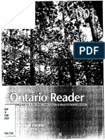 Ontario Reader 2001 Student