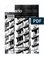 Ontario Reader 1999 Student