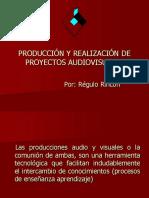 Guía Para La Producción y Realización de Proyectos Audiovisuales (1)