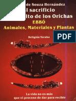 El Sacrificio En El Culto de Los Orishas Adrian De Souza Hernandez.pdf