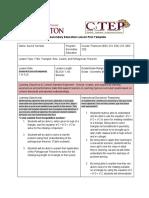 aurora turmelle - learning event 1 - secondary practicum lesson plan - edu 223 - 11 1