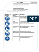 Informe de Taller Mecanico Torno SENATI - FIQT UNI