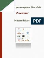 Actividades para empezar bien el día. Preescolar. Matemáticas.pdf