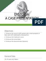 Dystocia Final