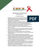Informe Vice Presidente REDBOL en XV Foro Nacional 10nov2018