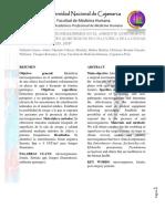Final.final Presencia de Microorganismos en Una Sala de Operaciones y Material Quirúrgico en Clínica de La Ciudad de Cajamarca. Julio 2018.