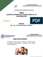 Sesión 05 - Control Interno de TI