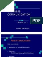 Business Communication Module1