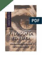 Filosofía Yoruba Mirando desde Occidente