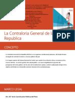 Contraloria General de La Republica Trabajo