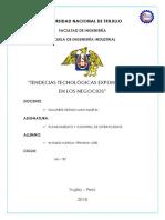 Tendencias Tecnologicas Exponenciales en Los Negocios
