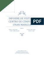 Informe de Visita de Centro de Datos UNAN