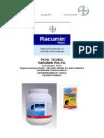 Ficha Tecnica Racumin