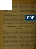 03:18:1950 Article the Nation - Communism in the Caribbean?