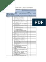 Cuestionario Proceso Administrativo