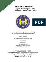 Cover Peer Teaching
