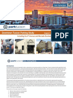 Downtown Tucson Parking Study Report