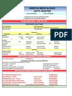 Standby Week 22 - Draft
