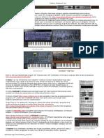 Software Sintetizador Livre