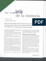 Cerruti - La Historia de La Memoria
