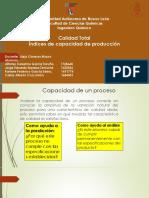 Equipo 1 -Indices de Capacidad de Proceso