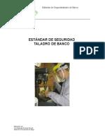 ESTÁNDAR DE SEGURIDAD  TALADRO DE BANCO