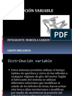 Distribución Variable MECANICA