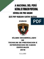 Sillabus Tecnicas Prevencion Ntervencion Casos Especiales