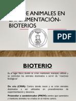 1.- Uso Animales Exp Bioterio