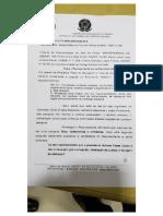 Decisão Conselho Eleitoral OAB-DF -- Pesquisa eleitoral não registrada