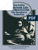 (Language, Discourse, Society) Jane Gallop (Auth.)-Feminism and Psychoanalysis_ the Daughter's Seduction-Palgrave Macmillan UK (1982)