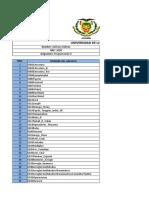 Indice Programas