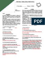 EVALUACION OFICIAL III BIM. 6° 2018 COMUNICACION (Autoguardado)