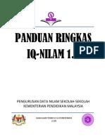 Manual Ringkas Sistem IQ NILAM 1.0