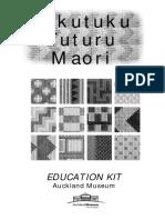 Tukutuku Tuturu Maori - Auckland Museum