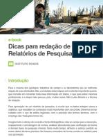 e-book Dicas para redação de Relatórios de Pesquisa Mineral.pdf