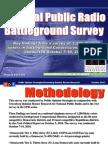 NPR Battleground Survey - October 7-10, 2010
