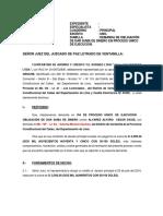Demanda Cooperativa - Alvarez Alfaro Sin Aval - Ventanilla - Cooperativa