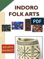 MAPEH 7 Mindoro Folk Arts