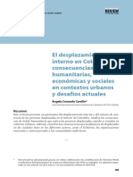 5- El Desplazamiento Interno en Colombia