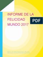 Ranking de La Felicidad 2017. Español