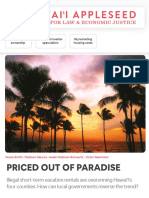 Priced Out Of Of Paradise