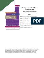 Prayer Study Document